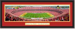 Kansas City Chiefs Arrowhead Stadium Framed Panoramic Print