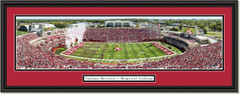 Indiana Hoosiers Football Memorial Stadium Framed Panoramic Print