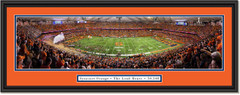 Syracuse Orange Football The Loud House Dome Framed Panoramic Print