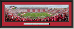 Wisconsin Badgers Football Camp Randall Stadium Framed Panoramic Print