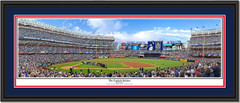 """The Captain"" Retires Framed Panoramic Print"