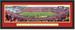 Iowa State Cyclones Football Jack Trice Stadium Framed Panoramic Print Double Matting and Black Frame
