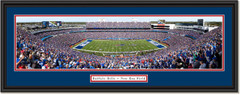 Buffalo Bills New Era Field  Framed Panoramic Print