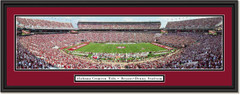 2019 Season Alabama Crimson Tide Football Bryant-Denny Stadium Framed Panoramic