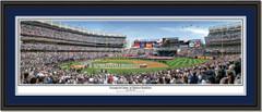 Inaugural Game at Yankee Stadium Framed Panoramic Print