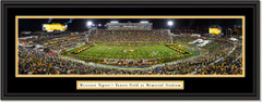 Missouri Tigers Football Faurot Field Framed Panoramic Print