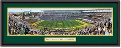 Baylor Bears Football McLane Stadium Framed Panoramic Print