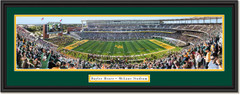 Baylor Bears Football McLane Stadium Framed Panoramic Print