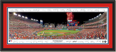 2019 World Series Game Three - Opening  Ceremony - Framed Panoramic - SIGNATURE EDITION