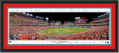 2019 World Series Game Three - First Pitch - Framed Panoramic - SIGNATURE EDITION