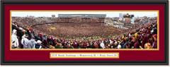 Minnesota Golden Gophers Football - Storming the Field - Framed Print