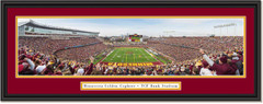Minnesota Golden Gophers - End Zone - TCF Bank Stadium Framed Picture