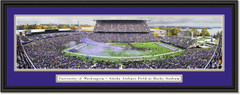 Washington Huskies Football Husky Stadium Framed Print