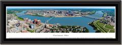 Cincinnati Skyline Daytime Framed Print