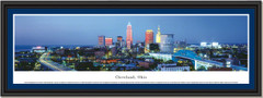 Cleveland Skyline at Twilight Frame Print