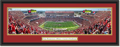 San Francisco 49ers 50 Yard Line at Levi's Stadium - 2019 Season - Framed Print
