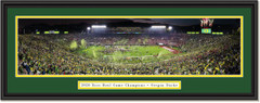 2020 Rose Bowl -- Oregon Ducks CELEBRATION -- Framed Panoramic