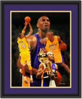 Kobe Bryant Composite Framed Art