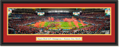 2020 Super Bowl Champs -- CELEBRATION -- Kansas City Chiefs Framed Print