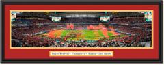 2020 Super Bowl Champs -- CELEBRATION -- Kansas City Chiefs Framed Print