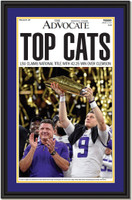LSU National Champs - Top Cats - Headline Framed Print