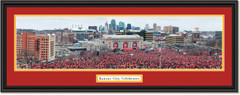 2020 Kansas City Chiefs Super Bowl PARADE Celebration Framed Print