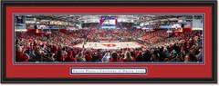 Dayton Flyers Basketball UD Arena Framed Print