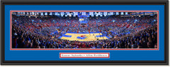 Kansas Jayhawks Basketball Allen Fieldhouse Framed Print