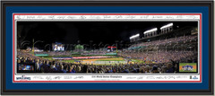 Chicago Cubs 2016 World Series Champion Framed Print - Signature Edition With Inserts
