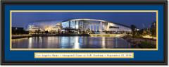 Los Angeles Rams SoFi Stadium Framed Panoramic Print