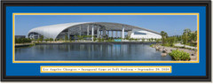 Los Angeles Chargers - Inaugural Game - SoFi Stadium Framed Panoramic