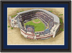 Truist Park Large Illustration - Home of the Atlanta Braves