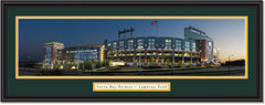 Green Bay Packers Lambeau Field Framed Panoramic