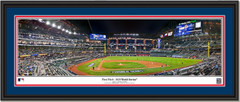 2020 World Series Game One - First Pitch - Framed Panoramic