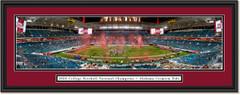 2021 CFP National Champs Celebration - Alabama Crimson Tide - Framed Print