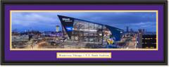 Minnesota Vikings - U.S. Bank Stadium - Framed Print