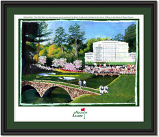 Personalized Augusta Leaderboard - Amen Corner - Framed Print