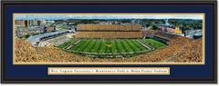 West Virginia Football -- Mountaineer Field at Milan Puskar Stadium Framed Print