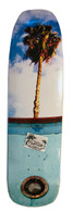 Blue Haven Pools homage deck by PoolFiend Skateboard Supplies  Size 9 inches wide by 33 inches long with a 15 inches wheel base.