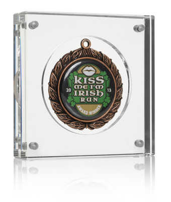 """Small (4"""") medal frame"""