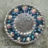 Metallic blue/AB