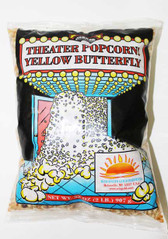 Yellow Butterfly Popcorn Two lbs