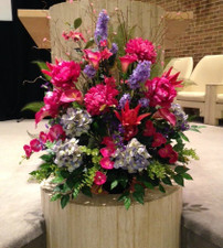 Permanent silk design - Online Flowers Highland Park IL - Jan Channon Flowers