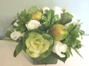 Rosh Hashanah table cubes-Flower Store Deerfield IL-Jan Channon Flowers