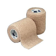 "Coban Non-Sterile Self-Adherent Wrap 2"" x 5 yds., Tan Roll 1 (881582)"
