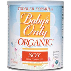 Baby's Only Organic Soy Toddler Formula, 12.7 oz. EA 1 (CO53950M)
