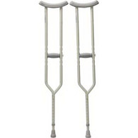 "Tall Push Button Crutches, 70"" - 78"" Height Adjustment, 300 lb. PR 2"