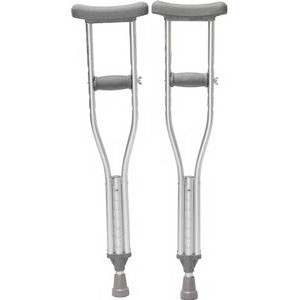 "Youth Push Button Crutches, 52"" - 62"" Height Adjustment, 300 lb. PR 2"