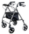 KD Rollator, Soft Seat, Black EA 1