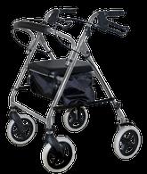 KD Rollator, Soft Seat, Silver EA 1
